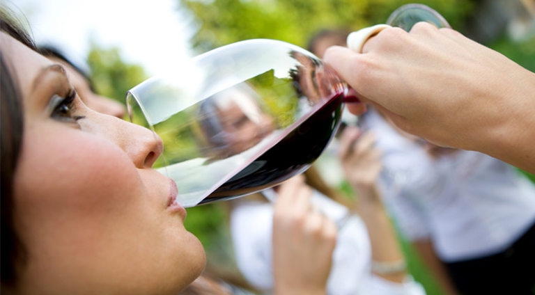 SLO Wine tasting